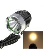 Warm Light Cree XML-T6 1200-Lumen 3-mode LED Bike Light Set