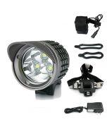 3U2 Bike Light | Uniquefire Uf-Hd005-3 3U2 3Xcree Xm-L U2 3800-Lumen Led Fahrrad Frontlicht Kit