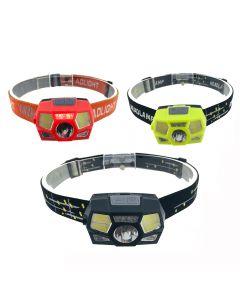 Superheller LED Scheinwerfer Bewegungssensor Helm Scheinwerfer USB wiederaufladbare Taschenlampe