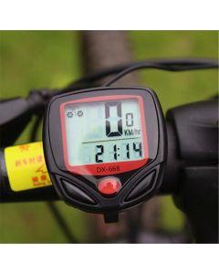 15 Funktion Fahrradcomputer Dx -668 Computer Tachometer Kilometerzähler Bike Stoppuhr