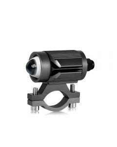 CNSUNNYLIGHT Tri-Modell Motorrad LED-Scheinwerfer mit Mini-Projektor-Objektiv Auto ATV Driving Nebelscheinwerfer Zusatzscheinwerfer