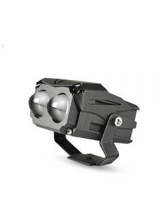2 stücke CNSUNNYLIGHT DBCL LED Dual Lens Bi Color Projektor Arbeitslicht Scheinwerfer Spot 12000Lm Hi/Lo Weiß Gelb Nebel DRLs Für Jeep