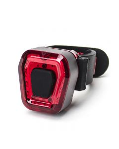 Fahrrad-Rücklicht-Kit Tragbares, leichtes, einstellbares USB-Ladegerät IPX4 Wasserdichtes Sicherheitslicht