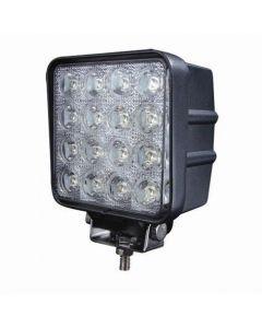 48W 12V 16 Stücke * 3W Led Arbeitslicht Lampe Wasserdicht Ip67 Flut Oder Spot Beam Jeep Atv Offroad Led Arbeitslicht