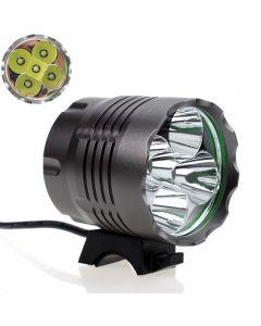 5Xcree Xm-L T6 3-Mode 5200Lm Led-Bike-Licht 4X18650 Batteriepack Led Fahrrad Front Bike Light Set