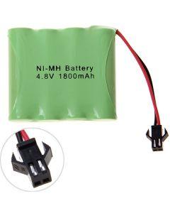Ni-Mh Aa 4.8V 1800Mah Sm Plug Battery Pack-4 Pcs A Packung