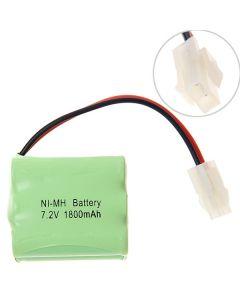 Ni-Mh Aa 7.2V 1800Mah 557 Plug Batteriepack-6 Pcs A Packung