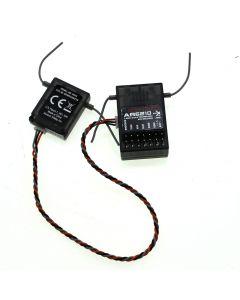 Ar6210 2.4Ghz 6-Kanal-Dsm-X-Empfänger R / C Hubschrauber / Areoplane Für Spektrum