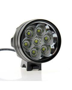 Super Helles 7T6-Bike-Licht / 7 * Cree Xm-L T6-Fahrradlicht (Nur Lampenmütze)