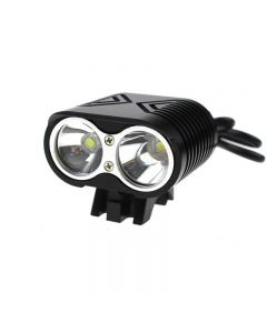 Radfahren Fahrradlicht 2 * Cree Xm-L2 4 Modi 3000Lm Led-Bike Light + Batteriepack + Ladegerät