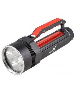 Lustefire Dv400 4 * Cree Xm-L2 Max 4000 Lumen Dimmen-Led-Tauch-Taschenlampe Handgriff-Rot (2 * 26650)