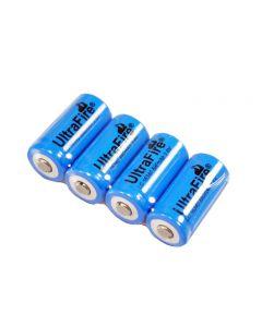 Ultrafire Lc 16340 880Mah 3.7V Wiederaufladbare Li-Ion-Batterie (4-Pack)
