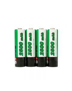 Soshine 2500Mah Aa 1.2V Ni-Mh-Akku Mit Batteriegehäuse (4-Einheit)