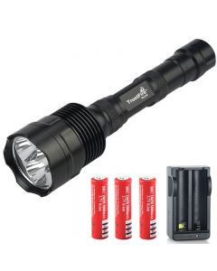 Trustfire Tr-3T6 Cree Xm-L 3800Lm 5-Mode-Led-Taschenlampe (3 * 18650)