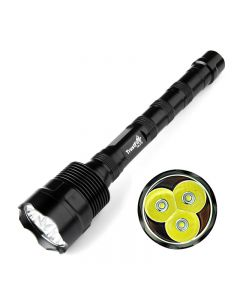 Trustfire Tr-3T6 Cree Xm-L 3 * T6 3800Lm Hohe Helligkeits-Led-Taschenlampe (3 * 18650)