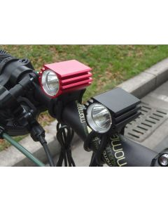 Single L2 Bicycle Lights / Cree Xm-L2 4 Mode Max 1200 Lumen Led Bike-Scheinwerfer (Nur Lampenmütze)