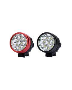 Black Color 8T6 Led-Radlampe 8 * Cree Xm-L T6 Led 3 Mode 7000 Lumen Bike Light Set