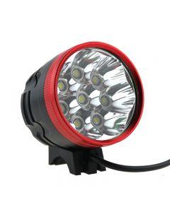 Rote Farbe 8T6 Led Fahrradlicht 8 * Cree Xm-L T6 Led 3 Mode 8000 Lumen Bike-Licht (Nur Lampenkappe)