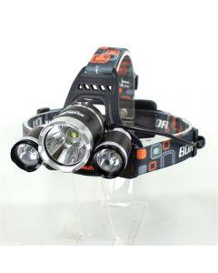 Boruit Rj-3000 Led-Scheinwerfer 3000-Lumen 3Xcree Xm-L T6 4-Modus-Scheinwerfer Mit Ladegerät