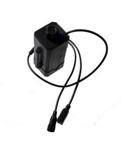 Wasserdichte Wiederaufladbare Power Bank Shell 2 Oder 4 Stück 18650 Batteriebox Für Bike Light Mit Dc Usb Dual-Ports