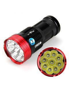 Skyray S99 9T6 / U2 9000-Lumen 9 * Cree Xm-L T6 U2 3-Mode-Led-Taschenlampe (4 * 18650 Batterie, Nicht Inbegriffen)