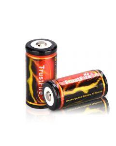 Trustfire 18350 3.7V 1200Mah Lithium Li-Ion Wiederaufladbare Batterie (2 Stücke)
