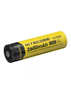 Nitecore Nl1826 3.7V 9,6Wh 2600Mah 18650 Batteriegeschützte Li-Ionen-Batterie (1Pc)
