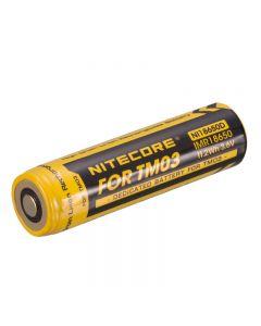 Nitecore 3.6V 11.2Wwh Dedica Battery Wiederaufladbarer Li-Ion-Batterie Für Tm03 Taschenlampe (Ni18650D) -1Pc