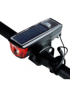 Radfahren Mit Radarnstrich Fahrradlicht Wasserdicht 350 Lumen Fahrrad Bell Licht Led Usb Wiederaufladbare Lampe Vordere Scheinwerfer Fahrradlicht