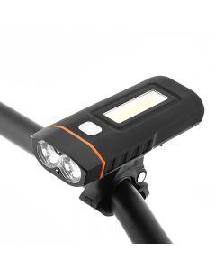 Zwei Lichter Fahrrad Scheinwerfer Fahrrad Led-Lampe Cree Xm-L2 U2 Und Cob Frontlicht 1000-Lumen 18650 Batterie Wiederaufladbar