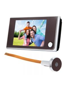 3,5 Zoll Lcd-Farbbildschirm Digitale Türklingel 120 Grad Türauge Türklingel Elektronische Peephol Türkamera-Viewer