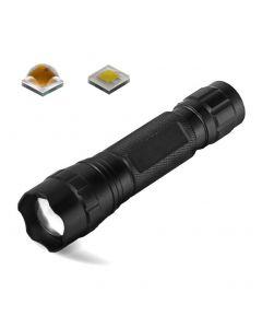 Ultrafire Wf-501B.2 Cree Xp-L Led 1200 Lumens Zoomable Einstellbare Fokus-Led-Taschenlampe