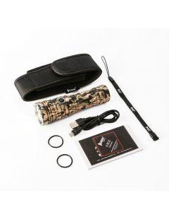 Wuben T70 Camouflage 4200Lm Cree Xhp70.2 Led Wiederaufladbare Taschenlampe 26650 Batterie-Notfall-Taschenlampe