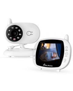 """Baby Monitor 3,5 """"Wireless Sp850 Baby Schlafende Musik Monitor Zweiwege Radio Kamera Nachtsicht Tragbare Temperaturüberwachungskamera"""
