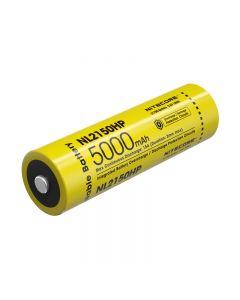 Nitecore 5000Mah Imr 15A 21700 Li-Ion-Batterie Hochleistungs-Li-Ion-Batterie Nl2150Hp