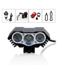 Led M3 Fahrrad Scheinwerfer Und Rücklicht Set Starkes Licht Für 2 Stunden 3T6 Scheinwerfer