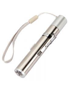 3 In 1 Usb Wiederaufladbare Mini Taschenlampe Laser Led Stift Licht Katze Lichtanzeige Lustiges Haustier Spielzeug