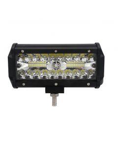 120W 7-Zoll-Kombi-LED-Lichtleisten Spot-Flutlichtstrahl für Arbeiten beim Fahren von Offroad-Booten