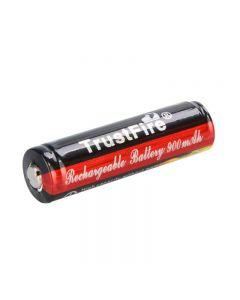 TrustFire 3,7 V 900 mAh 14500 Li-Ion-Akku mit geschützter Platine für LED-Taschenlampen - 1 Stück
