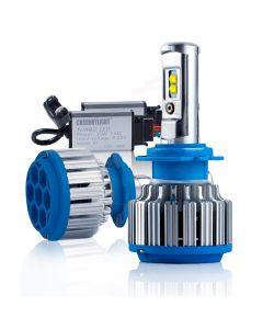 Cnsunnylight Autoscheinwerfer H7 H4 LED H8/H11 HB3/9006 H1 H3 9012 H13 9004 70W 7000lm Auto Birne Scheinwerfer 6000K Licht
