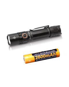 USB-Lade Fenix PD35 V3.0 1700-Lumen IP68 Tac LED-Taschenlampe Toch Kit