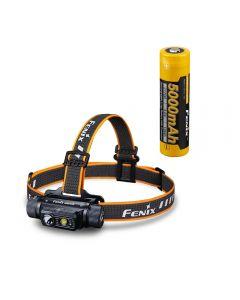 Fenix HM70R Wiederaufladbare 21700 Stirnlampe mit Dreifachlichtquelle