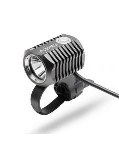 ON THE ROAD MX3-BL Fahrradlicht Front Wiederaufladbares Set LED Fahrradlampe USB Unterstützung 18650 Akku