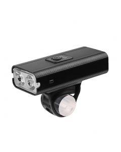 2 * T6 LED Fahrradlicht USB Wiederaufladbar 800 Lumen 6 Modus Wasserdicht Radfahren Frontlampe Scheinwerfer