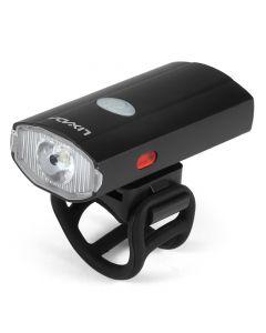 USB wiederaufladbarer Fahrradhelm Scheinwerfer Wasserdichter Fahrradscheinwerfer Rücklicht Lampe Taschenlampe