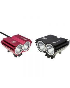 Solarstorm X2 2 U2 2000Lm Led-Fahrrad-Lichtkopf (Nur Kopflampe)