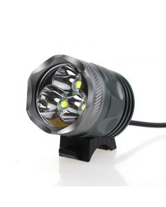 New 010 3000-Lumen LED Bike Front Light With 3 Pieces CREE XM-L U2 LED