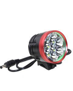Roter Kopf 7 * Cree Xm-L T6 Max 6000 Lumen 3 Modus-Front-Fahrradlicht (Nur Lampenmütze)