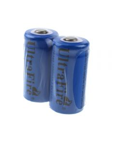 Ultrafire St 16340 1200Mah 3.6V Wiederaufladbare Li-Ion-Batterie (2-Pack)